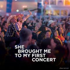 Return the gesture – take your mom to a concert! http://bit.ly/1ckYkvd #HappyMothersDay #LiveNation