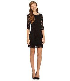 Jump Lace Sheath Dress