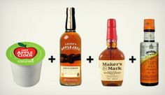 Que rico! Keurig + Booze = Yum  Click for more recipes @Heather Creswell Creswell Comerford, I thought of you!!