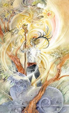 Shadowscapes Tarot -- King of Wands