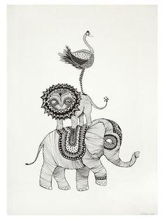 Poster - Africa av mini empire