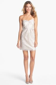 Jenny Yoo 'Hudson' Metallic Lace Sheath Dress (Online Only) | Nordstrom