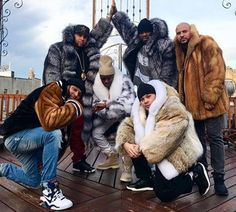 Marc Kaufman Furs was part of the Uncle Murda and 50 Cent &qout;THOT&qout; video shoot. The video was shot in Brooklyn,NYC January 12,2017. The video featured Young Ma and Dios Moreno as well. The Fur coats were furnished by Marc Kaufman Furs. It was a fur-ious set, filled with great energy and powered by h…