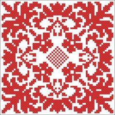 Massor med korsstygns mönster gratis