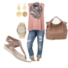 Earthy, created by hosefish on Polyvore