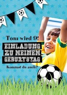 Fußballfan | Einladung zum Fußballfest oder auch nur für kleine Fußballer!
