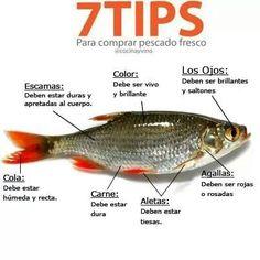 Tips para comprar pescado fresco