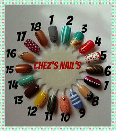 Hey, I found this really awesome Etsy listing at https://www.etsy.com/uk/listing/450988200/hand-painted-false-nails-set-of-20-nails