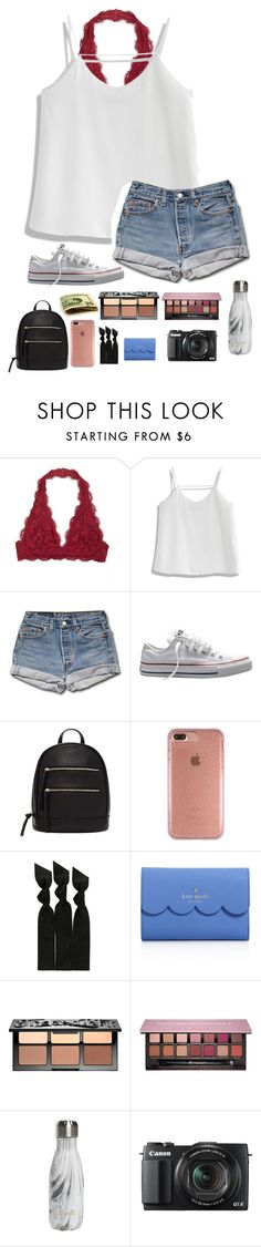 """""""universal studios outfit⚡️"""" by theperksofbeinghope ❤ liked on Polyvore featuring Chicwish, Converse, Forever 21, Speck, Emi-Jay, Kate Spade, Sephora Collection, Anastasia Beverly Hills, S'well and G1"""