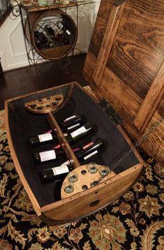 Whiskey Barrel Coffee Table, Bourbon Barrel, Keg Table, Small Storage Shelves, Wine Rack Design, Wine Barrel Furniture, Barrel Projects, Barrel Chair, Solid Oak