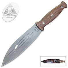 Condor Tool & Knife, Primitive Bush Knife, Blade, Wood Handle with Sheath Knives And Tools, Knives And Swords, Butterfly Knife, Throwing Knives, Tactical Knives, Camping Hacks, Camping Gear, Gears, Primitive