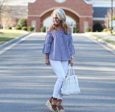 Two Peas in a Blog: OTS Gingham for Spring