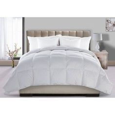 Ultra Down Extra Warmth Down Comforter, White