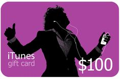 Win a $100 iTunes Gift Card {WW} Some Countries Restricted (See... IFTTT reddit giveaways freebies contests