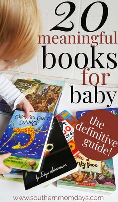20 Meaningful Books for Baby (and Toddlers!) You Can't Miss - Books - A collection of meaningful short stories for kids, books for baby, and toddler books your kids will - Board Books For Babies, Books For Boys, Childrens Books, Kid Books, Best Baby Book, Best Toddler Books, Best Books For Toddlers, Baby Girl Tops, Learning