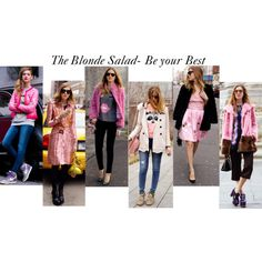 """""""The Blonde Salad in pink"""" by gabriela2105 on Polyvore"""