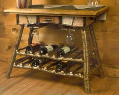 Wine table.