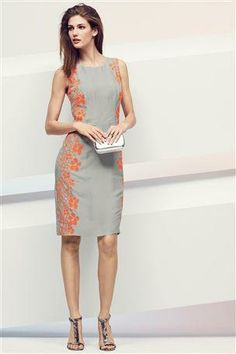 Neon floral dress...a great wedding a going out dress