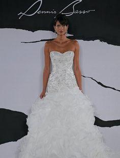 Dennis Basso - Sweetheart Mermaid Gown in Organza