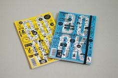 Pharos NoteBooks by Daniel Ting Chong, via Behance
