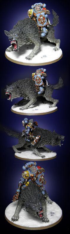 Space Wolf on Thunderwolf