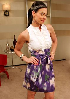 Stacy London Fashion Lookbook. Can I just get her as my stylist? Also love her outfit a lot..... ❤️