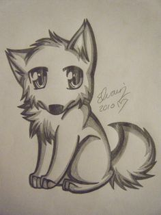 Drawings of Wolves | wolf drawing 4 by animefan1863 on deviantART