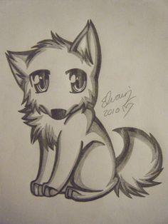 Drawings of Wolves | wolf drawing 4 by animefan1863 on deviantART
