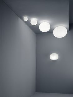 Ceiling mounted lamp providing diffused light Captain Flint, Lighting Showroom, Interior Lighting, Home Lighting, Pendant Lighting, Patricia Urquiola, Philippe Starck, Ceiling Light Fixtures, Ceiling Lamp