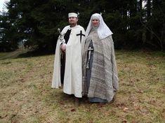 Ordebroeder en ordezuster van de Duitse Orde. CA 1200-1220