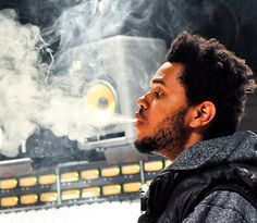 The Weeknd...I promise you this man will takeover the entire game when his album drops...Legend in the making.