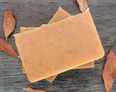 Organic Pumpkin Soap - Pumpkin Pie Soap - Pumpkin Goat Milk Soap - Natural Pumpkin Soap - Essential Oil Soap - Autumn Soap - Fall Soap