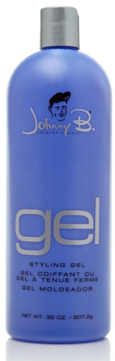 Johnny B- Gel-Super Hold-32oz * This is an Amazon Affiliate link. See this great product.