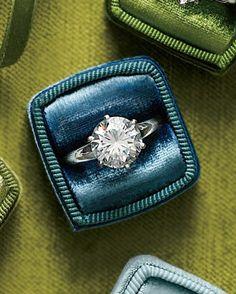 Round-Cut Diamond Engagement Ring, A. Jaffe, ajaffe.com