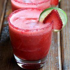 RECEITA THERMOMIX: Margarita de morango