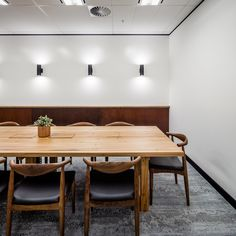Elbow Chair CH20 at Launch Recruitment Offices - Sydney