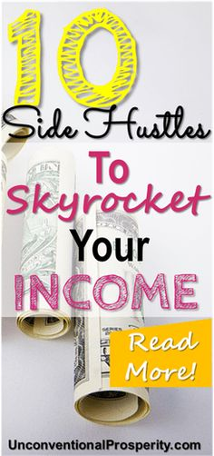 These 10 side hustles could skyrocket your income - we have used these 10 side hustles and made some decent money side hustling over the years! I absolutetly love making money online and these ideas are some of the best ideas to make extra money! Make Money Today, Make Money Fast, Make Money Blogging, Money Tips, Make Money From Home, Money Saving Tips, Make Money Online, Money Hacks, Affiliate Marketing