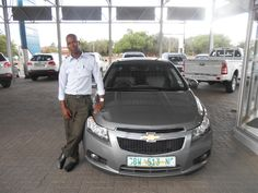 Congratulations to Mr Taolo with the purchase of his Chevrolet Cruze 1.6LS in November 2014. Thank you to Stephan Vermeulen who made this possible. Welcome Mr Taolo to the McCarthy Family.