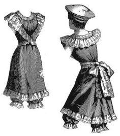 1890s Bathing Suit