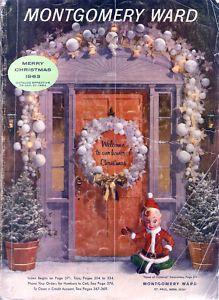 MONTGOMERY WARDS 1963 CHRISTMAS CATALOG WARDS WISHBOOK
