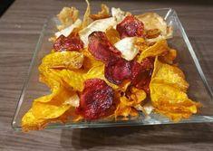 Házi zöldségchips French Toast, Paleo, Chips, Vegan, Breakfast, Recipes, Food, Breakfast Cafe, Potato Chip
