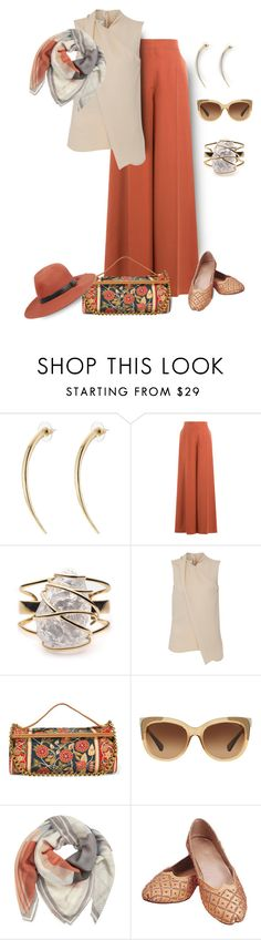 """Once you know what respect tastes like, you will never crave attention again."" by grownuppaperdolls ❤ liked on Polyvore featuring Alexis Bittar, Valentino, Cédric Charlier, Tory Burch, Coach, BeckSöndergaard, rag & bone and polyvoreeditorial"