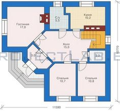 Готовый проект двухэтажного дачного дома