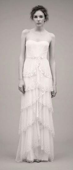 wedding dress by Jenny Packham