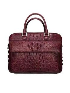 Men s Crocodile Bag, Alligator Bag, Crocodile Briefcase Briefcase For Men, Leather  Briefcase, ed03476296