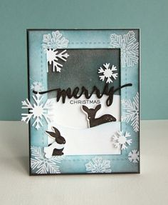 Hand Lettered Holiday Die - WPlus9 Design Studio, LLC