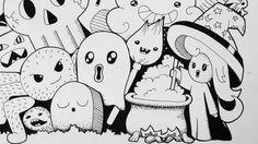 Halloween Doodle (Speed-Drawing)