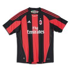 AC Milan (Italy) - 2010/2011 Adidas Home Shirt
