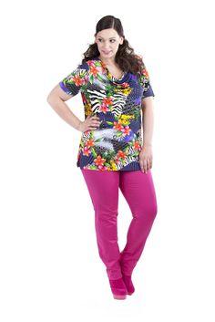 "Shirt ""Tropic Mix"""