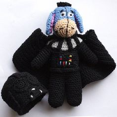 "Igorth, i'm your mother 😅  ""could be worse. Not sure how, but it could be"" Eeyore    #darthvader #starwars   #winniethepooh #igor #eeyore  #burro #burrito  #mix #misturas   #crazy #coisasestranhas  #adoro  #amocroche #lovecrochet   #love #muitoamor   #amor  #linhas #croche #crochet  #artesanato #artes #artesanatoportugal #artesanatoportugues  #portugal #pt #portugues #madeinportugal"